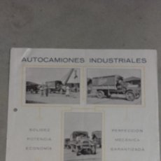 Coches y Motocicletas: CATALOGO ORIGINAL AUTOCAMION INDUSTRIAL LA BUIRE SA TIPO 400 35/40 HP 4000 KILOS. Lote 131047848