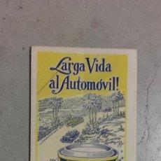 Coches y Motocicletas: CATALOGO ORIGINAL PRODUCTOS AUTOMOVIL WHIZ ERPRESENTANTE ARAGON AUTO GOMAS AÑOS 30. Lote 131048032