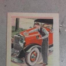 Coches y Motocicletas: CATALOGO ORIGINAL PUBLICIDAD DU PONT LUSTRE PARA SU AUTOMOVIL AÑOS 20. Lote 131048772