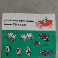 Coches y Motocicletas: FOLLETO COMERCIAL CATALOGO BOCINAS AUTOMOVIL MIXO 1964 . Lote 131049576