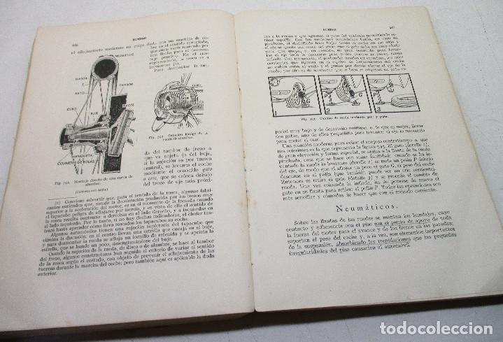 Coches y Motocicletas: Libro, manual de automóviles M. ARIAS-PAZ, Dossat, edición 1951 - Foto 3 - 131188296