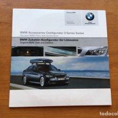 Coches y Motocicletas: DVD - BMW CONFIGURADOR SERIE 3 BMW 2005. Lote 131717337