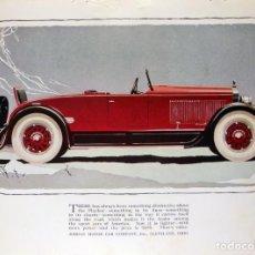 Coches y Motocicletas: JORDAN MOTOR CAR COMPANY. 1926. Lote 131898022