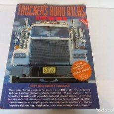 Coches y Motocicletas: TRUCKER´S ROAD ATLAS 1991 - MAPAS CARRETERAS EEUU. Lote 131971070