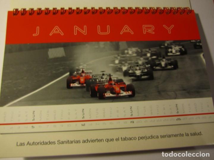 Coches y Motocicletas: calendario sobremesa f1 ferrari malboro año 2003 the champions - Foto 2 - 132101954