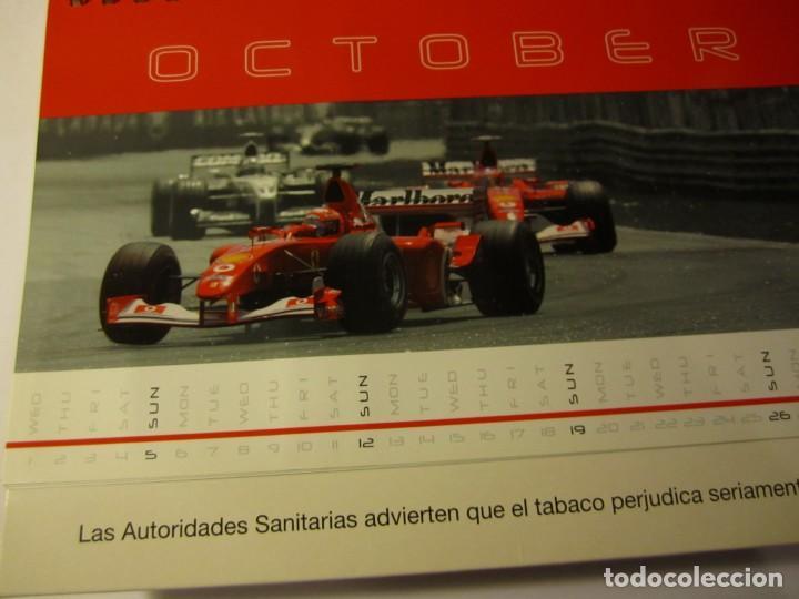 Coches y Motocicletas: calendario sobremesa f1 ferrari malboro año 2003 the champions - Foto 3 - 132101954