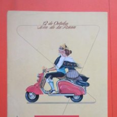 Coches y Motocicletas: PUBLICIDAD 1957 - COLECCIÓN COCHES - MOTO LAMBRETTA 12 DE OCTUBRE DIA DE LA RAZA HISPANIDAD FRANCO . Lote 132204266