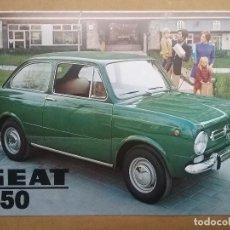 Coches y Motocicletas: SEAT CATÁLOGO SEAT 850 AÑO 1970. Lote 132217794