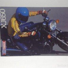 Voitures et Motocyclettes: FOLLETO PUBLICITARIO MOTO YAMAHA XJ650 - ORIGINAL. Lote 132297646