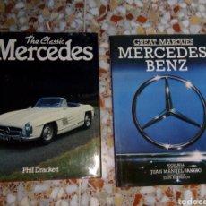 Coches y Motocicletas - Lote de 2 libros mercedes - 132792126