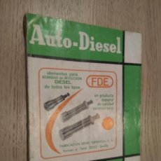 Coches y Motocicletas: AUTO-DIESEL Nº 63 VI SEPTIEMBRE 1965. KLAM. Lote 132877674