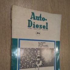 Coches y Motocicletas: REVISTA AUTO-DIESEL. VII AÑO Nº 86. AGOSTO 1967. KLAM. Lote 132954074