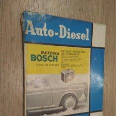 Coches y Motocicletas: REVISTA AUTO-DIESEL. VII AÑO Nº 82 ABRIL 1967. KLAM. Lote 132954418