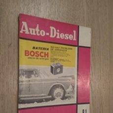 Coches y Motocicletas: REVISTA AUTO-DIESEL. VII AÑO Nº 81 MARZO 1967. KLAM. Lote 132954518