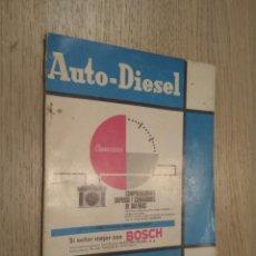 Coches y Motocicletas: REVISTA AUTO-DIESEL. VII AÑO Nº 80 FEBRERO 1967. KLAM. Lote 132954618