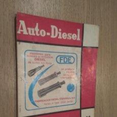 Coches y Motocicletas: REVISTA AUTO-DIESEL. VI AÑO Nº 69 MARZO 1966. KLAM. Lote 132954718