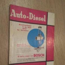 Coches y Motocicletas: REVISTA AUTO-DIESEL. VI AÑO Nº 70 ABRIL 1966. KLAM. Lote 132954842
