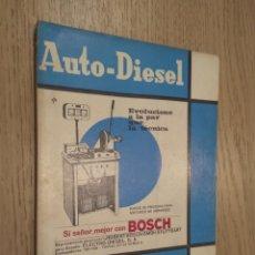 Coches y Motocicletas: REVISTA AUTO-DIESEL. VI AÑO Nº 72 JUNIO 1966. KLAM. Lote 132955038