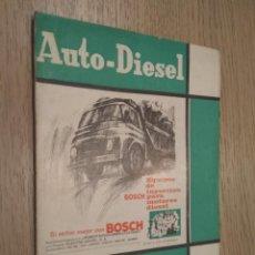 Coches y Motocicletas: REVISTA AUTO-DIESEL. VI AÑO Nº 73 JULIO 1966. KLAM. Lote 132955098
