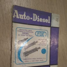Coches y Motocicletas: REVISTA AUTO-DIESEL. VI AÑO Nº 61 JULIO 1965. KLAM. Lote 132955314