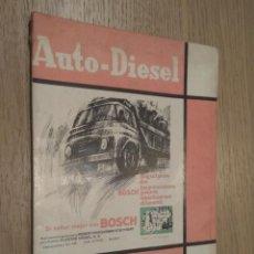 Coches y Motocicletas: REVISTA AUTO-DIESEL. VI AÑO Nº 78 DICIEMBRE 1966. KLAM. Lote 132955374