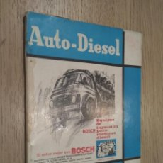 Coches y Motocicletas: REVISTA AUTO-DIESEL. VI AÑO Nº 75 SEPTIEMBRE 1966. KLAM. Lote 132955462