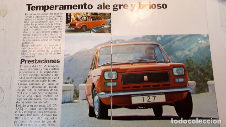 Coches y Motocicletas: Seat 127 catálogo, 1972 - Foto 2 - 133035598