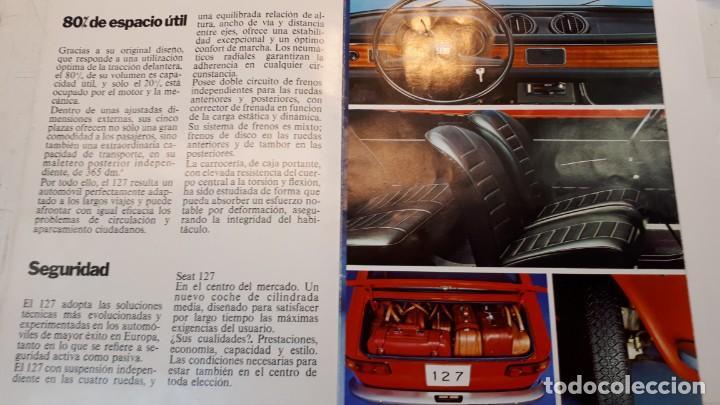 Coches y Motocicletas: Seat 127 catálogo, 1972 - Foto 3 - 133035598