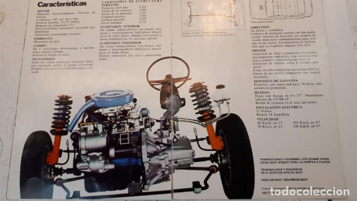 Coches y Motocicletas: Seat 127 catálogo, 1972 - Foto 4 - 133035598