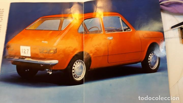 Coches y Motocicletas: Seat 127 catálogo, 1972 - Foto 5 - 133035598