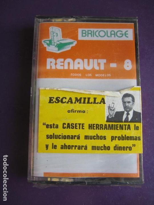 RENAULT 8 CASETE BRICOLAGE DEL AUTOMOVIL - ESCAMILLA - PRECINTADO (Coches y Motocicletas Antiguas y Clásicas - Catálogos, Publicidad y Libros de mecánica)