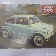 Coches y Motocicletas: CATALOGO PUBLICITARIO. FIAT 600. CON DATOS TECNICOS, MECANICA, DESCRIPCION. VER FOTOS. Lote 133532574