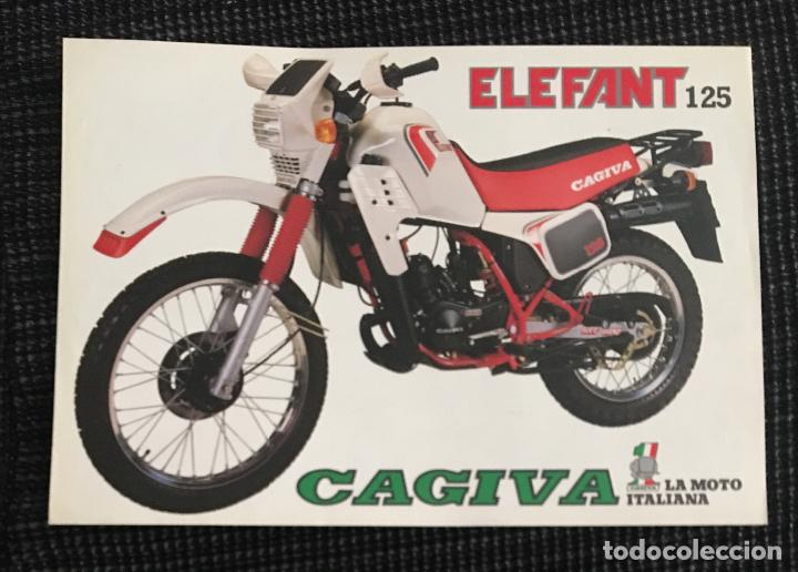 3594ff3ce7549 Folleto catalogo publicidad original cagiva ele - Sold through ...
