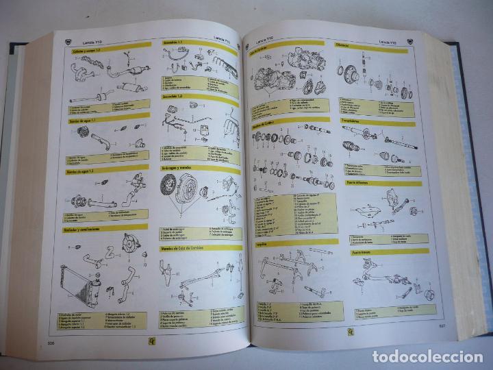 Coches y Motocicletas: Anuario gráfico de componentes del automóvil + Tiempos de reparación mecánica carrocería EINSA 1999 - Foto 4 - 133679730