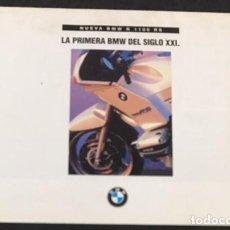 Coches y Motocicletas: CATALOGO FOLLETO PUBLICIDAD ORIGINAL BMW R 1100 RS. Lote 133757050
