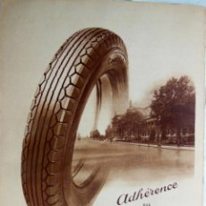 Coches y Motocicletas: SUPERBALLON GOODRICH COLOMBES. 1933. Lote 133924530