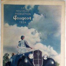 Coches y Motocicletas: PEUGEOT 1934. Lote 133925062