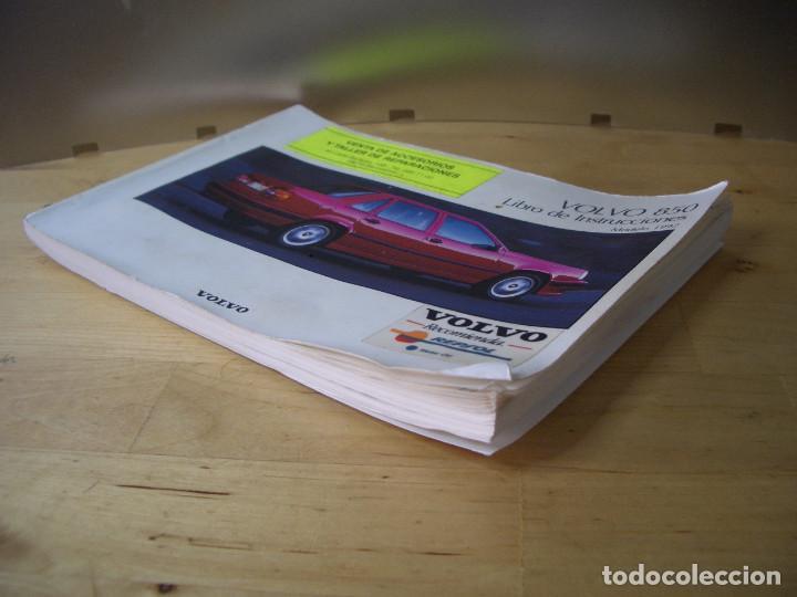 Coches y Motocicletas: VOLVO 850 LIBRO INSTRUCCIONES MANUAL TP3290/1 - Foto 3 - 134197082