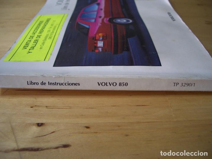 Coches y Motocicletas: VOLVO 850 LIBRO INSTRUCCIONES MANUAL TP3290/1 - Foto 5 - 134197082