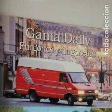 Coches y Motocicletas: CATALOGO GAMA IVECO PEGASO DAILY FURGONES Y FURGONETAS (ZCETA). Lote 134343738
