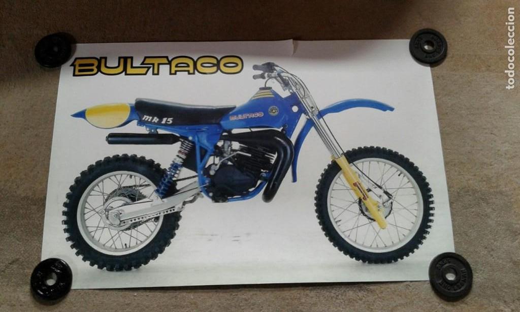 BULTACO PURSANG (Coches y Motocicletas Antiguas y Clásicas - Catálogos, Publicidad y Libros de mecánica)