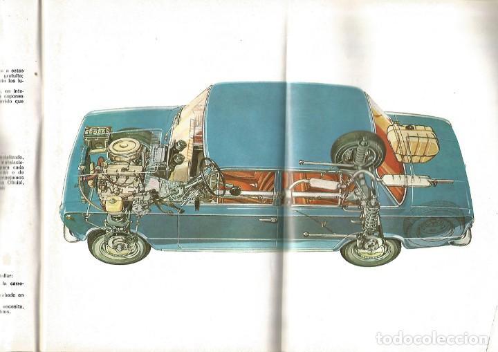 Coches y Motocicletas: COCHE SEAT 124 MANUAL USO ENTRETENIMIENTO PRIMERA EDICION 1969 SEAT - Foto 2 - 135085830