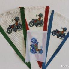 Coches y Motocicletas: 4 BANDERINES PARA MOTO MONTESA IMPALA, AÑOS 70. Lote 135435166