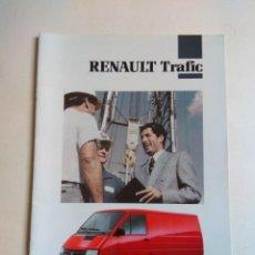 Coches y Motocicletas: CATALOGO RENAULT TRAFIC. Lote 135511654