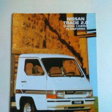 Coches y Motocicletas: CATALOGO NISSAN TRADE 2.0 CHASIS CABINA PLATAFORMA. Lote 135512174