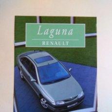 Coches y Motocicletas: CATALOGO RENAULT LAGUNA . Lote 135512654