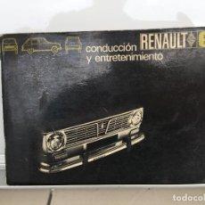 Coches y Motocicletas: RENAULT 6 MANUAL DE USUARIO 1969. Lote 135530902