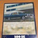 Coches y Motocicletas: MERCEDES BENZ CATALOGO 280 SE 280 SE 3.5 COUPES Y CONVERTIBLES DE 1970. Lote 135561506