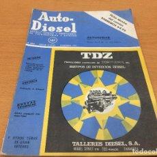 Coches y Motocicletas: AUTO DIESEL PUBLICACION PROFESIONAL NUM 161 NOVIEMBRE 1973 BARREIROS. Lote 135565602