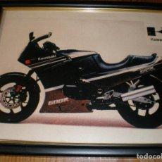 Coches y Motocicletas: KAWASAKI GPX-600 R,CUADRO DE 22 X 27 CMS. Lote 135584146